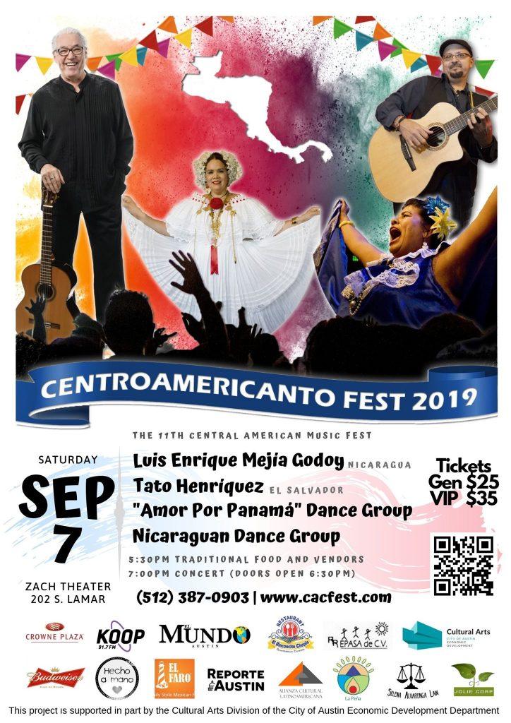 En su onceavo año, y cada vez con una mayor participación de artistas internacionales y un público cada vez más extenso y diverso, el festival Centroamericanto Fest se llevará a cabo el 6 y 7 de septiembre 2019 y continuará celebrando la identidad y apreciación de las tradiciones centroamericanas.