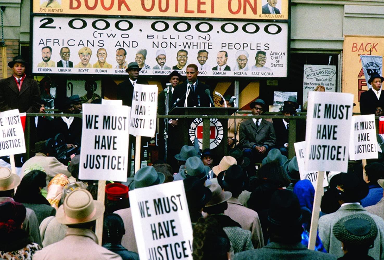 Denzel Washington en Malcolm X (1992)